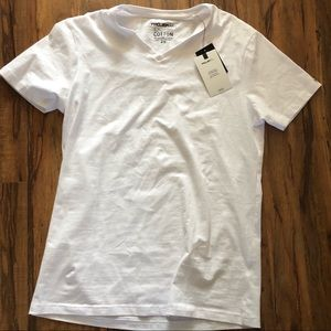 ProjectRaw Shirt Tee Cotton White Tshitt